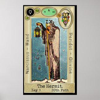 Ifdawn Deepdream Tarot-Schlüssel 9 ~ der Poster