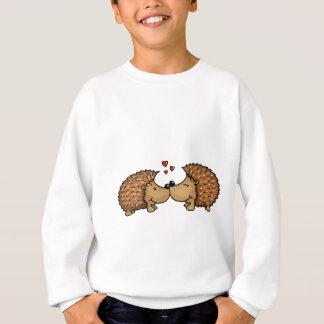 Igel in der Liebe Sweatshirt