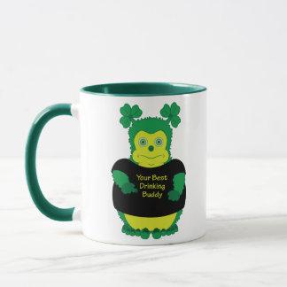 Ihr bester trinkender Freund - irische Tasse für