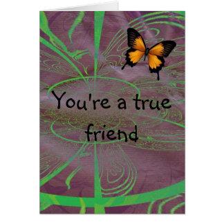 Ihr ein echter Freund Karte