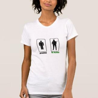 Ihr Freund MEINE FreundArmee Freundin T-Shirt
