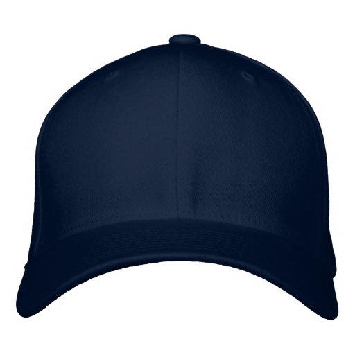 """""""Ihr Namens"""" gestickter Hut (hinter) Bestickte Baseballmütze"""