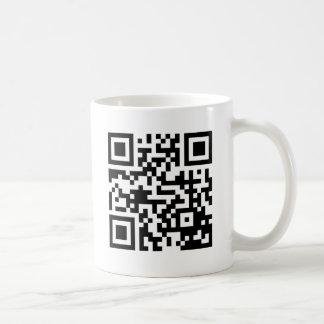 Ihr schneller QRS Code im Material Tasse