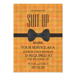 Ihr Service als Trauzeuge 12,7 X 17,8 Cm Einladungskarte