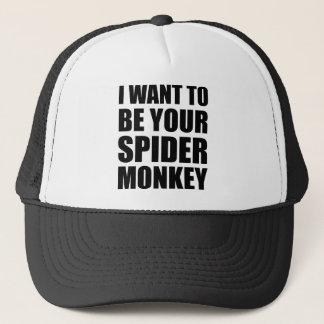Ihr Spinnen-Affe I Truckerkappe