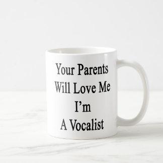 Ihre Eltern sind Liebe ich gewillt, den ich ein Tasse