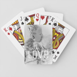 Ihre Foto-kundenspezifischen Spielkarten | mit