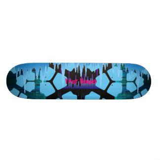 Ihre Namenseis-Schmelze Personalisiertes Skatedeck