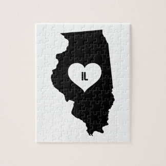 Illinois-Liebe Puzzle
