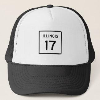 Illinois-Weg 17 Truckerkappe