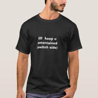illl behalten u unterhalten (Schalterseite) T-Shirt