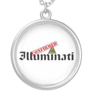 Illuminati bestätigte versilberte kette