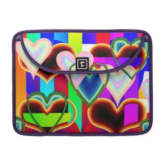 Illusion der Herzen Macbook Prohülse Sleeve Für MacBook Pro