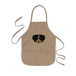 Illustration Bernese Gebirgshund Kinderschürze