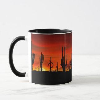 Illustration des Kaktusbaums wenn der Tasse