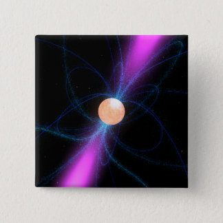 Illustration eines Pulsar 2 Quadratischer Button 5,1 Cm