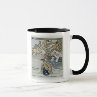 Illustration von Dantes 'göttlichem Comedy Tasse