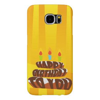 Illustrations-alles- Gute zum Geburtstagkuchen mit