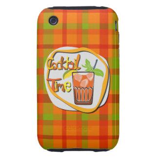 "Illustrations-Cocktail mit Frucht ""Cocktail-Zeit "" Tough iPhone 3 Etuis"