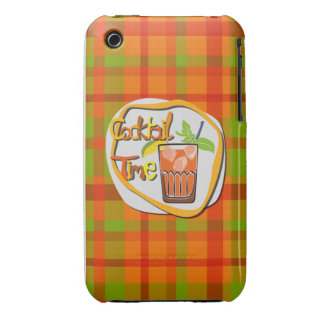 """Illustrations-Cocktail mit Zitrone """"Cocktail-Zeit iPhone 3 Cover"""