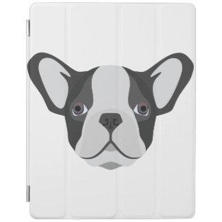 Illustrations-niedliche französische Bulldogge iPad Hülle
