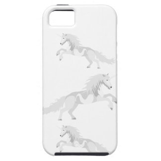 Illustrations-Weiß-Einhorn iPhone 5 Case