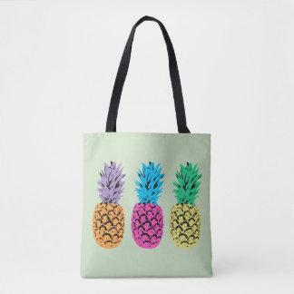 Illustrierte bunte Ananas
