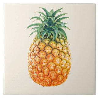 Illustrierter Ananasentwurf Fliese