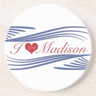 ILove Madison. mehrfache Produkte ausgewählt Getränkeuntersetzer