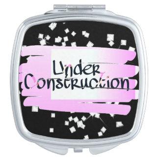 Im Bau kompakter Spiegel Schminkspiegel