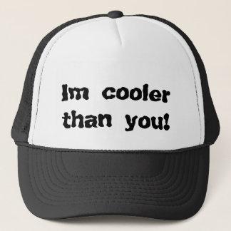 Im cooler als Sie! Truckerkappe