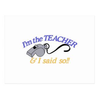 Im der Lehrer Postkarten