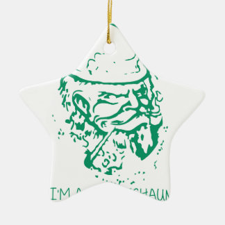 Im ein Kobold Keramik Stern-Ornament