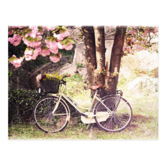 Im Früjahr Garten Postkarte