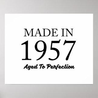Im Jahre 1957 gemacht Poster