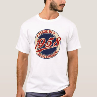 Im Jahre 1958 gemacht T-Shirt