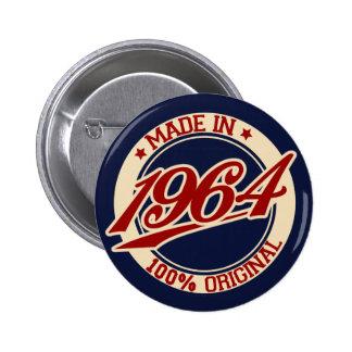 Im Jahre 1964 gemacht Runder Button 5,1 Cm