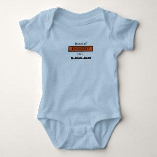 Im Notfall Skala 9-Juan-Juan Baby Strampler