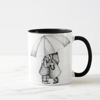 Im Regen Tasse