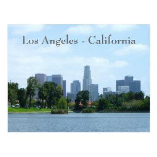 Im Stadtzentrum gelegene Ansicht-Postkarte Los Postkarte