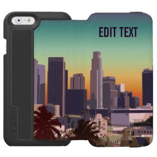 Im Stadtzentrum gelegenes Los Angeles - Incipio Watson™ iPhone 6 Geldbörsen Hülle