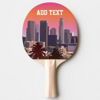 Im Stadtzentrum gelegenes Los Angeles - Tischtennis Schläger