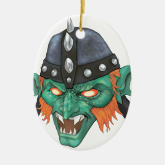 IMBH Kobold-Kapitän 2. Ed Ovales Keramik Ornament