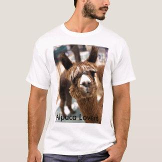 IMG_0463 Kopie, Alpaka-Liebhaber T-Shirt