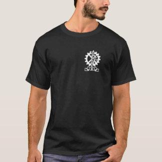 IMI versah Israel-Militär 2 Gewehr-T-Shirt mit T-Shirt