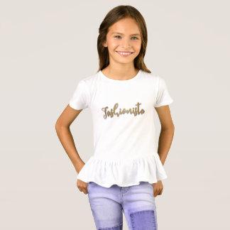 Imitat-GoldGlitter, Fashionista T-Shirt