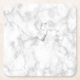 Imitat-Marmor-Blick Rechteckiger Pappuntersetzer