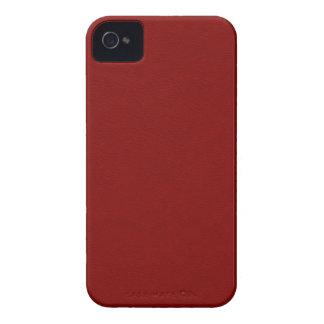 Imitat-Rot-Leder iPhone 4 Cover