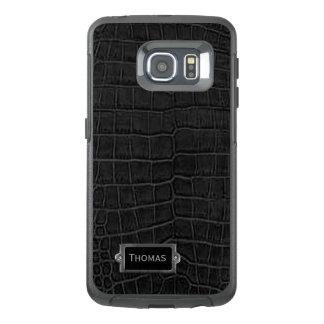 Imitat-schwarzer AlligatorOtterbox Samsung S6