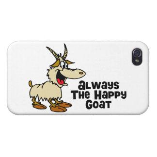 Immer die glückliche Ziege Schutzhülle Fürs iPhone 4